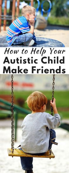 Simple Ways to Help Your Autistic Child Make Friends Helping your autistic child make friends can be really hard, but these tips make it way easier!Helping your autistic child make friends can be really hard, but these tips make it way easier! Autism Parenting, Gentle Parenting, Parenting Advice, Kids And Parenting, Parenting Humor, Social Skills Activities, Autism Activities, Autism Resources, Training