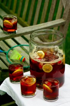 Pimm's Cup This traditional English summertime libation