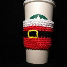 Santa's Coffee Cozy Pattern