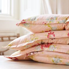 Peach Trees, Peach Blossoms, Rose Cottage, Cottage Style, Bed Pillows, Cushions, Bold Prints, Vintage Love, Duvet