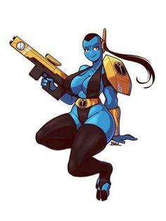 Tau Girl Firewarrior by Blazbaros on DeviantArt Anubis, Chica Alien, Battle Brothers, Green Lantern Movie, Character Art, Character Design, Hulk Art, Alien Girl, Thicc Anime
