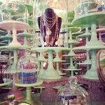 cake stands #vintage #shopping Venice Beach California