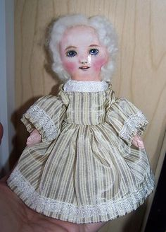 new small painted cloth doll i just finished