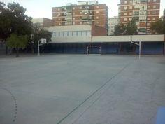 pista futbol-sala y baloncesto en el colegio manuel de falla