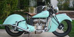 1941 Indian Sport Scout- I want this <3 , and in this color too.