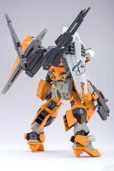 Custom Build: HGBF 1/144 GM Cardigan Custom - Gundam Kits Collection News and Reviews