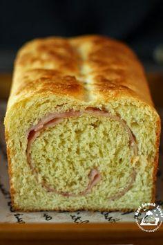 Nasi Lemak Lover: Brioche Loaf with Ham 火腿布里歐修麵包
