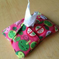 5 Minute Kleenex Holder Sewing Tutorial 8