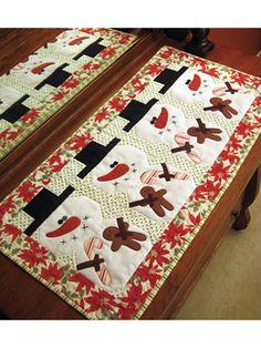 Be Merry Table Runner Pattern