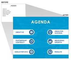 agenda design template with big band from top right to lower left, Modern powerpoint