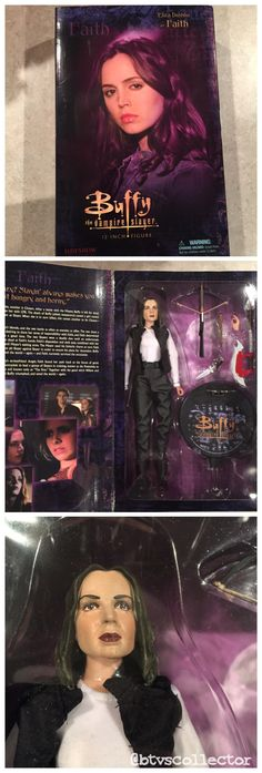 """Sideshow Collectibles (1:6 Scale) 12"""" Buffy the Vampire Slayer Figure - Faith - Exclusive - Limited to 500.  Has scythe. #btvscollector #btvs #buffy #buffythevampireslayer"""
