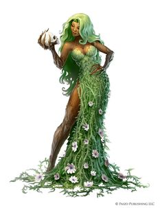 """Character art for Pathfinder's """"The First World, Realm of the Fey"""" campaign setting."""