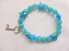 Key to the Stars Faceted Brazilian by CaseyRoseCollection on Etsy, $16.00