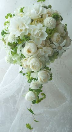 Beautiful - reminds me of my bouquet way back when!