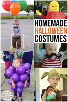 Halloween is right around the corner -- are you already planning your family's homemade Halloween costumes? We've found some of the most creative DIY costumes for kids and wanted to share them with you. Homemade Halloween Costumes, Halloween Costumes For Girls, Halloween Crafts, Halloween Party, Fun Costumes, Costume Ideas, Halloween Ideas, Happy Halloween, Halloween 2018