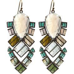 beautiful earrings by Nak Armstrong