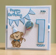 Baby boy birthday card paper crafts 51 New ideas Baby Birthday Card, Unicorn Birthday Cards, Homemade Birthday Cards, Birthday Cards For Boyfriend, Birthday Cards For Boys, Homemade Cards, Daddy Birthday, Girlfriend Birthday, Birthday Quotes