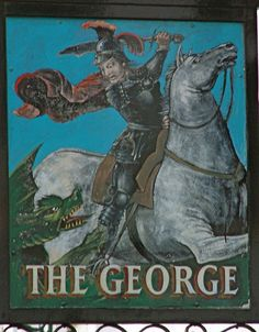 George pub sign , Southwark