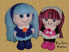 Amigurumi Monster High : 1000+ images about Monster High crochet on Pinterest ...