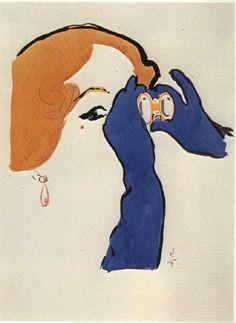 rene gruau- flair cover1951