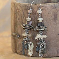 Sage Smudged Spirit Bundle Earrings. OriginArtifacts via Etsy.