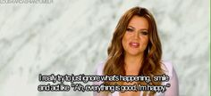 """But she always remains positive, no matter what dramz she's experiencing. 
