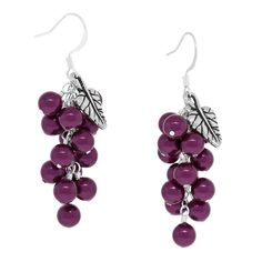 Berry Cluster Earrings | Fusion Beads