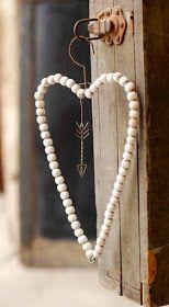 VINTAGE, EL GLAMOUR DE ANTAÑO: Detalles Decorativos con Mucho Corazón