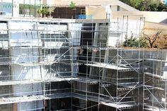 Jardines verticales en Thessaloniki (Grecia)