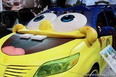 #Toyota's #SpongeBob Squarepants-themed Sienna | The News Wheel #cars #minivan @toyotausa @chiautoshow