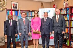 Queen Maxima attends meetings in New York as UN advisor for Inclusive Finance    14 MAR  z