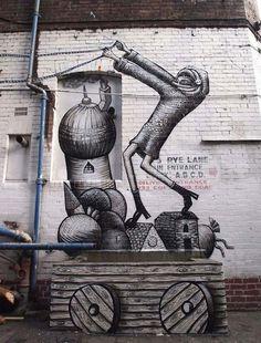 British artist Phlegm