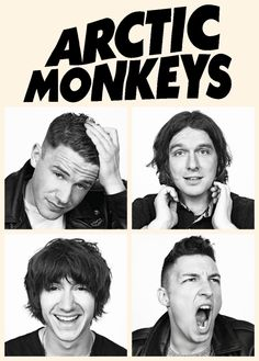 the Arctic Monkeys Epic funny faces