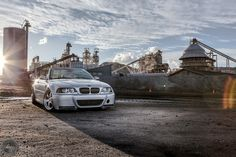 Here we have Marq's BMW We shot this BMW just outside of Las Vegas, NV at a construction factory! Automotive Photography, Car Photography, Digital Photography, E46 M3, Bmw E46, Best Car Deals, Canon Digital, Used Cars, Cars For Sale