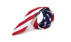 marthu tie USA FLAG print, marthu print, cotton tie