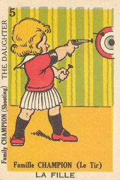 Vintage Illustration Art, Illustrations, Card Games, Game Cards, Vintage Games, Advertising Poster, Football Cards, Bang Bang, Vintage Stuff