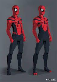 Some Spiderman redesigns/concepts. Not radically different to the classic blue/red costume, but I always like the idea of dropping the blue out of the s. The Spiderman Amazing Spiderman, All Spiderman, Spiderman Kunst, Spiderman Sketches, Comic Book Characters, Marvel Characters, Comic Character, Comic Books Art, Comic Art
