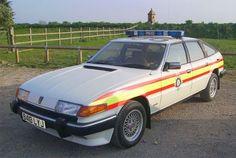 Rover Police car - the Jaguar interceptor - British Police Cars, Old Police Cars, Old Cars, Police Vehicles, Emergency Vehicles, Car Rover, Police Patrol, Cars Uk, Commercial Vehicle