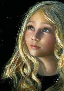 Self Portrait Painted by Child Prodigy Artist Akiane Kramarik