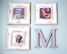 Mix newborn pics, quotes, and birth info