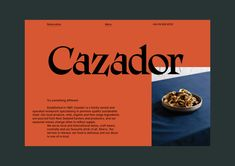 Cazador — 1987 to Today | Best Awards #webdesign