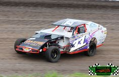 Andrew Hulstein the #33 WISSOTA Midwest Modified Race Car from Thief River Falls MN always puts on a great show at The Legendary Bullring Ri...