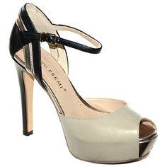 #decolelte in pelle grigia e nera di #brunoPremi  http://www.tentazioneshop.it/scarpe-bruno-premi/sandalo-x2005x-beige-bruno-premi.html
