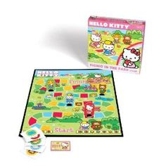 Hello Kitty Picnic in the Park Game $4.99