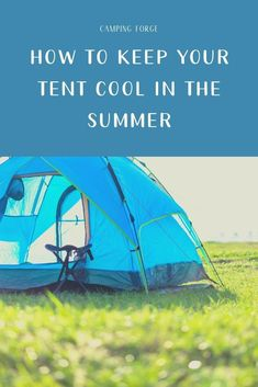 To Keep Your Tent Cool In The Summer Learn how to be keep cool in your tent while on a summer camping trip. how to be keep cool in your tent while on a summer camping trip. Camping Storage, Camping Organization, Diy Camping, Camping Life, Family Camping, Tent Camping, Camping Gear, Camping Hacks, Outdoor Camping