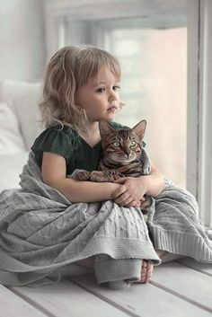 Cats and kittens Animals For Kids, Animals And Pets, Baby Animals, Cute Animals, Precious Children, Beautiful Children, I Love Cats, Crazy Cats, Kind Photo