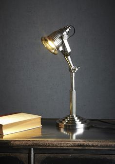 Silver Lake Desk Lamp - DESK LAMPS  - Emac & Lawton Desk Lamp, Table Lamp, Lounge Lighting, Silver Lake, Globe, Lamps, Lights, Type, Bedroom