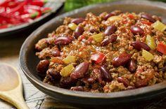 Perfecta receta de chili