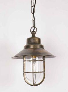 Smith Solid Brass Vintage Nautical Pendant Light