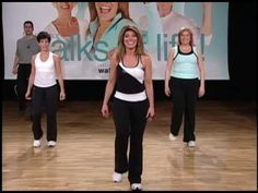 Fitness Production for Walk at Home users featuring fitness leader Leslie Sansone. Senior Fitness, Women's Fitness, Leslie Sansone, Elderly Activities, Gym Video, Walking Exercise, Fitness Workout For Women, Mix Match, Personal Trainer